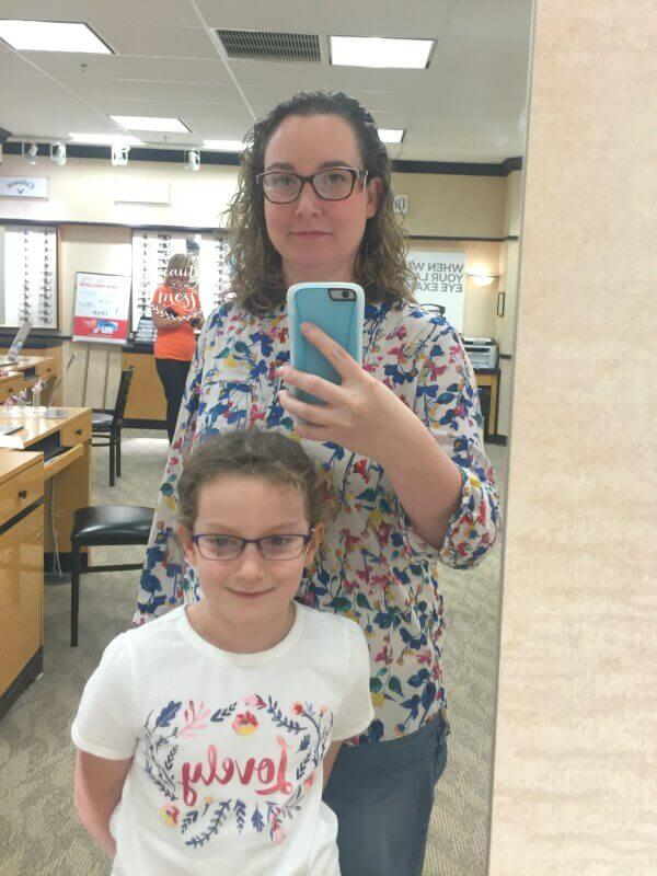jcp-optical-trying-on-glasses-selfie