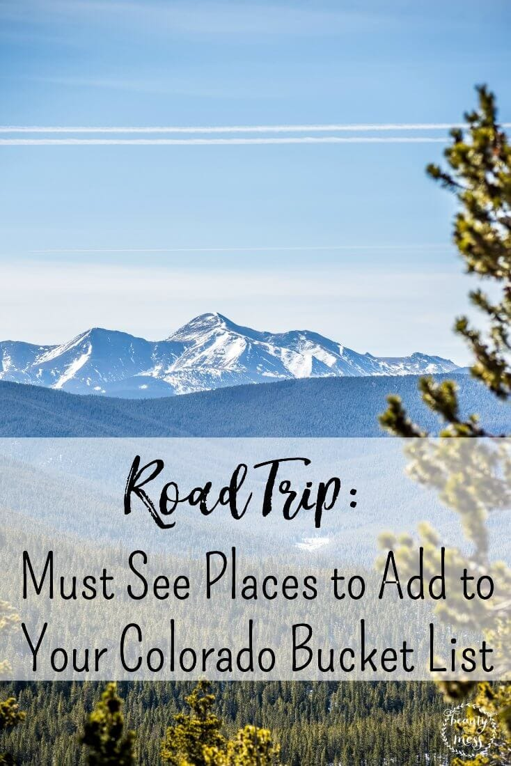 Whether you're new to Colorado, or planning a road trip trying to figure out what to explore, this CO Bucket List will get you started off on the right foot! via @simplifyingfamily