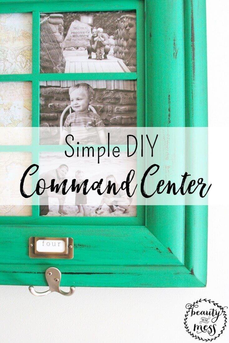 Simple DIY Command Center