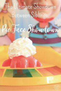 The Ultimate Showdown Between Siblings: Pie Face Showdown