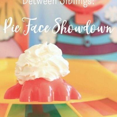 The Ultimate Showdown Between Siblings: Pie Face Showdown
