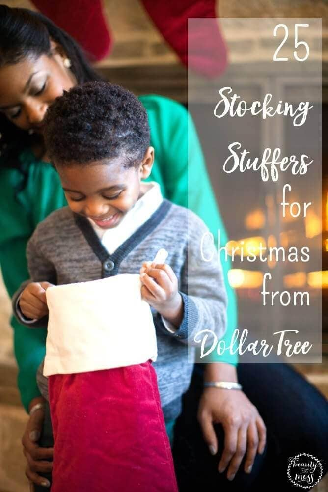 Ideas for Stocking stuffers aren't always easy to come up with. Dollar Tree makes it simple. Here are 25 stocking stuffer ideas for kids. via @simplifyingfamily
