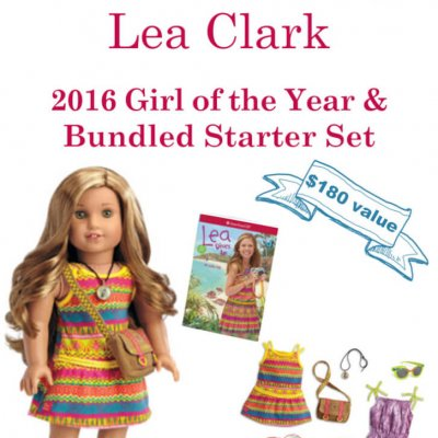 Enter to Win this American Girl Doll Lea Clark Bundle Gift Set