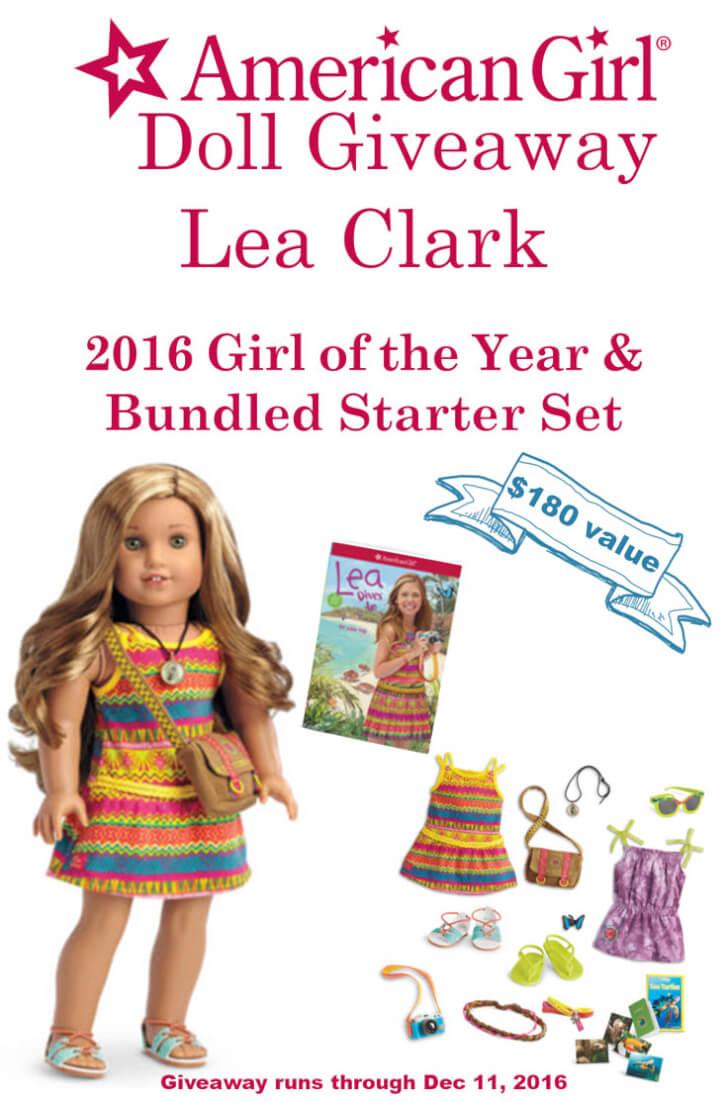American Girl Doll Lea Clark Bundle Gift Set