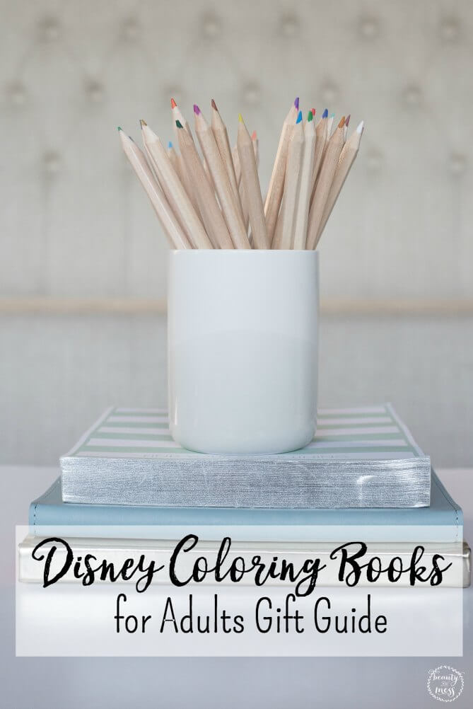 Relax while coloring beautiful pictures inspired by your favorite Disney movies. Find the perfect gift for the Disney-lover in your life.