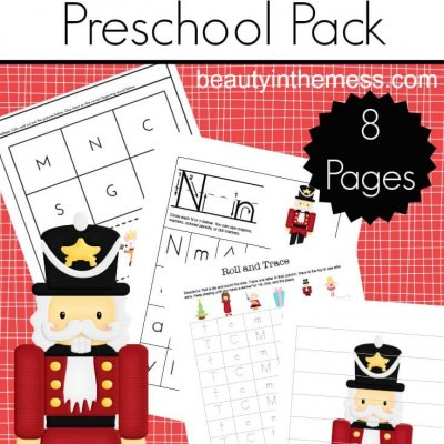 Nutcracker Preschool Pack