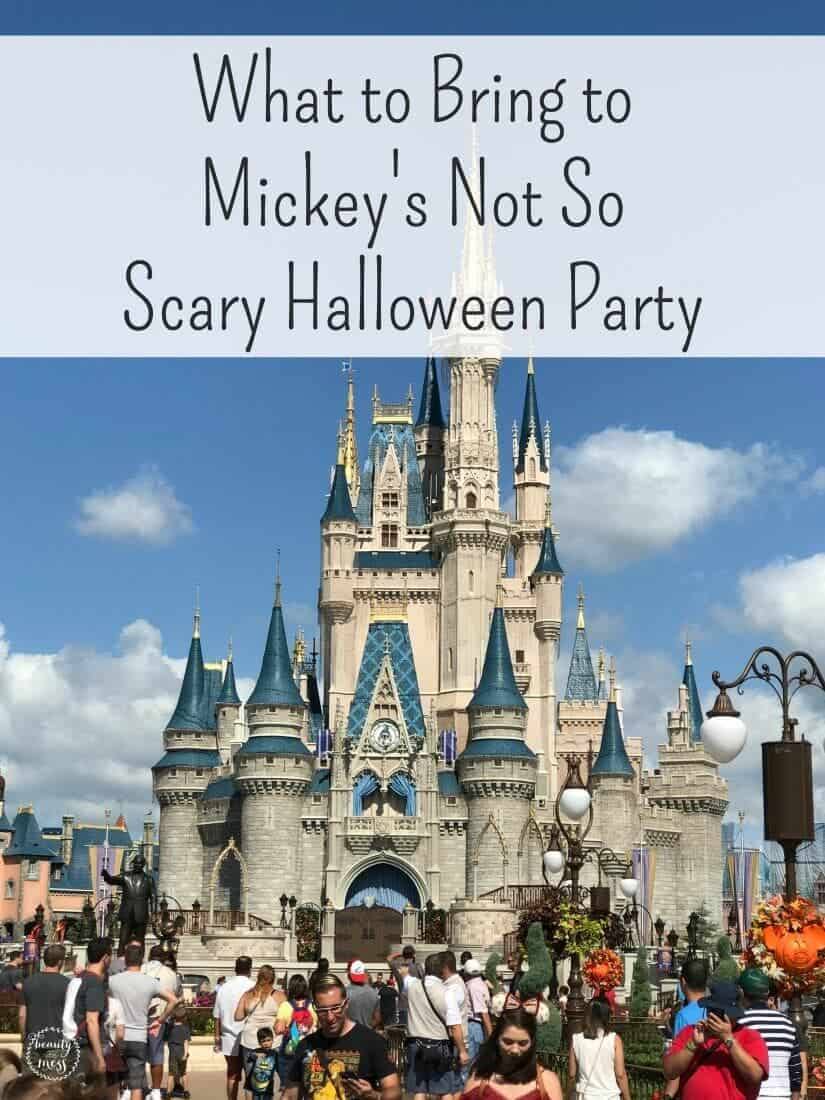 Mickey's Not So Scary Halloween Party is a special ticketed event for your family to Trick or Treat while experiencing all that the Magic Kingdom has to offer without the normal crowds. via @simplifyingfamily