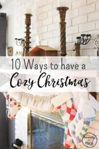 10 Ways to have a Cozy Christmas