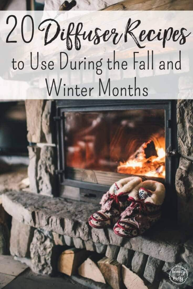 Break out your diffuser to try these diffuser recipes making your home feel warm and cozy, beat the wintertime blues, and for the Holidays. via @simplifyingfamily
