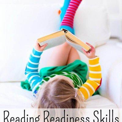 Reading Readiness Skills for Kindergarten