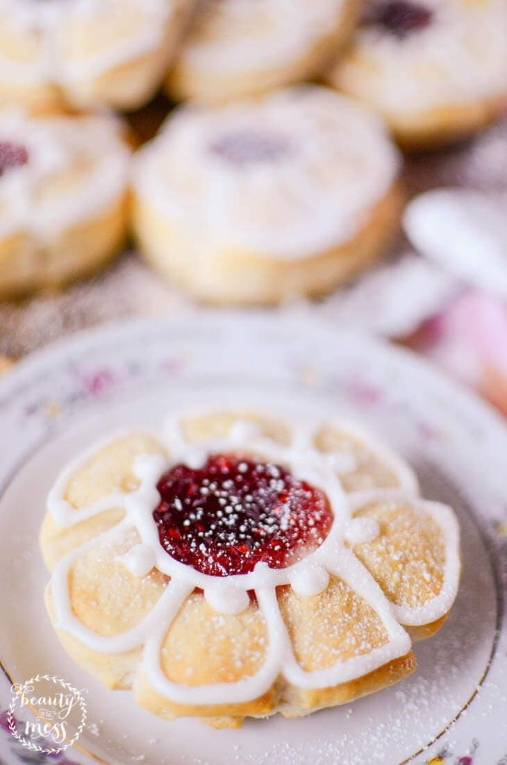 Jam Blossom Tea Biscuits Jammie