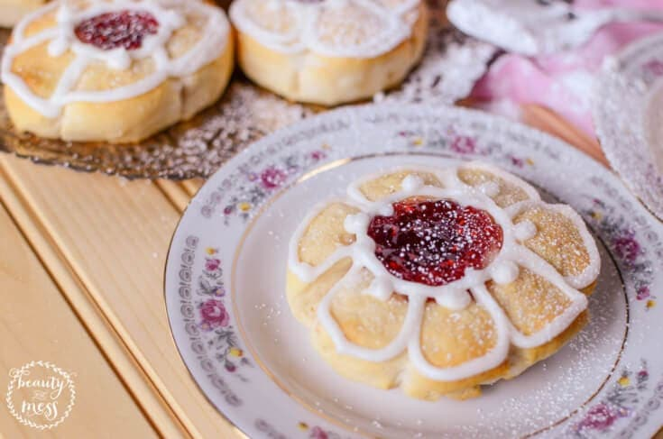 Reconnecting with Tea Parties and Jammie Blossom Tea Biscuits