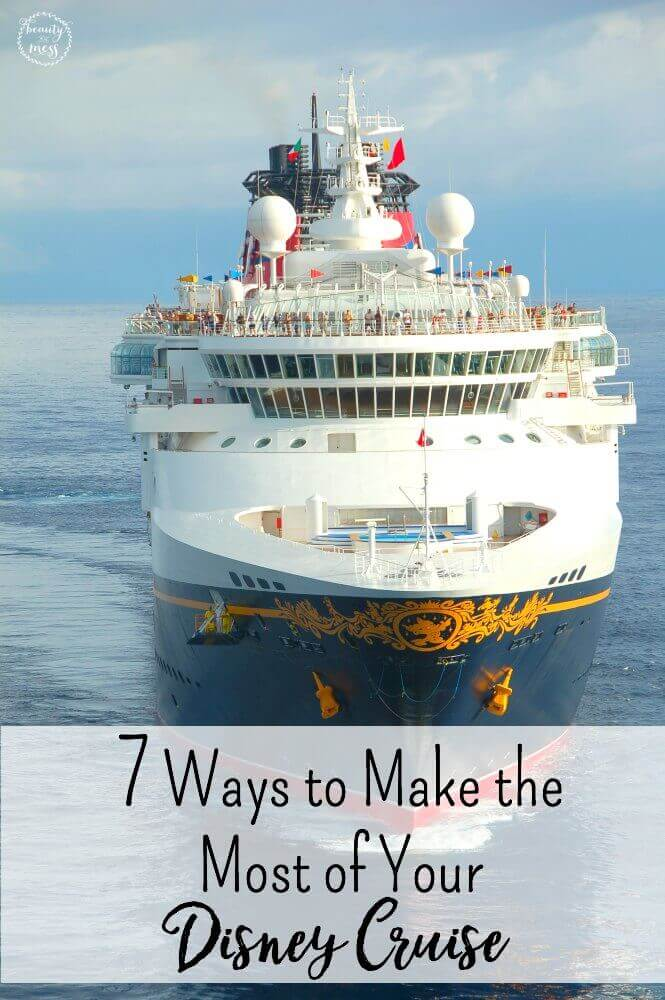 Planning your Disney Cruise can be overwhelming. Give these 7 ways to make the most of your Disney Cruise your consideration, and you are sure to have the most magical time imaginable. via @simplifyingfamily
