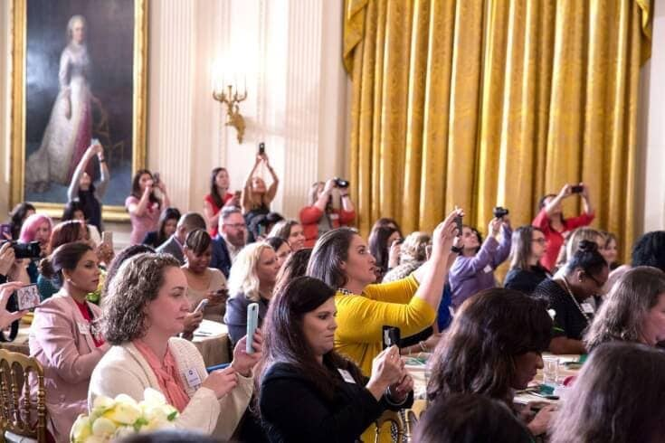 Parents Have the Power: First Lady Hosts Parenting Blogger Event