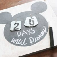 Super Easy DIY Disney Countdown Calendar