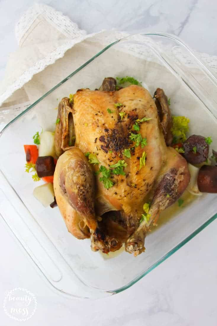 Set The Oven To Broil And Place The Chicken Under The Broiler For 2 Minutes  To