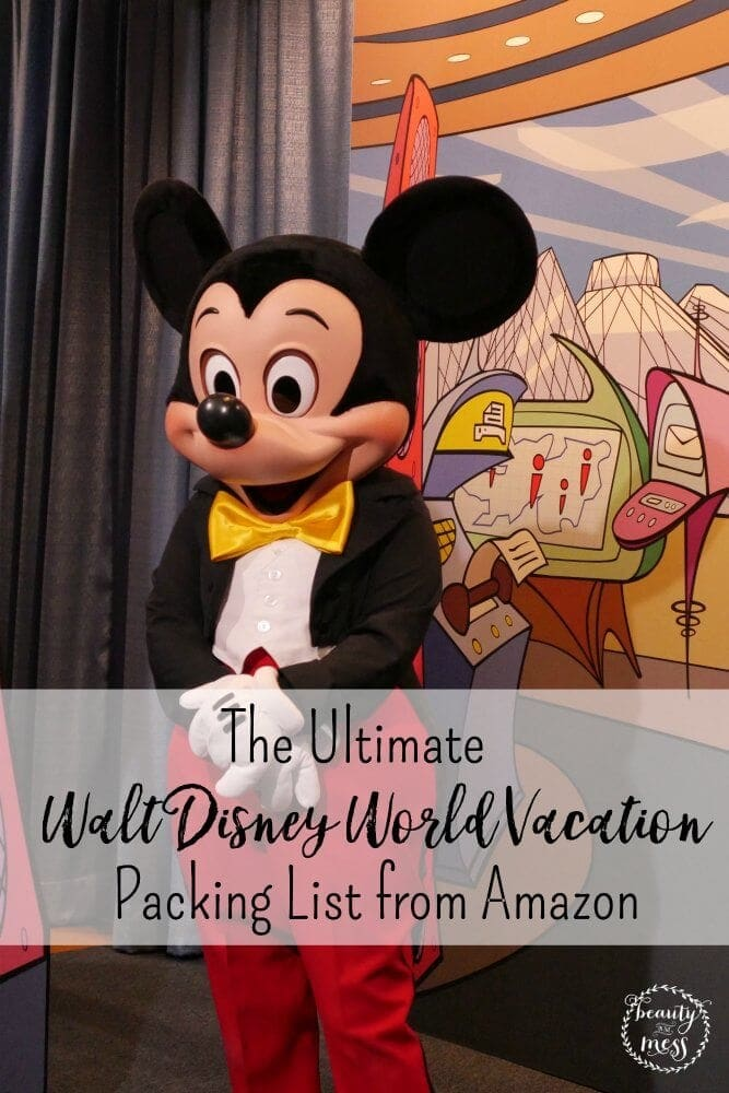 Packing for a Walt Disney World vacation is both exciting and overwhelming. Here are some items that you might not think about bringing with you as you pack that can be bought from Amazon.