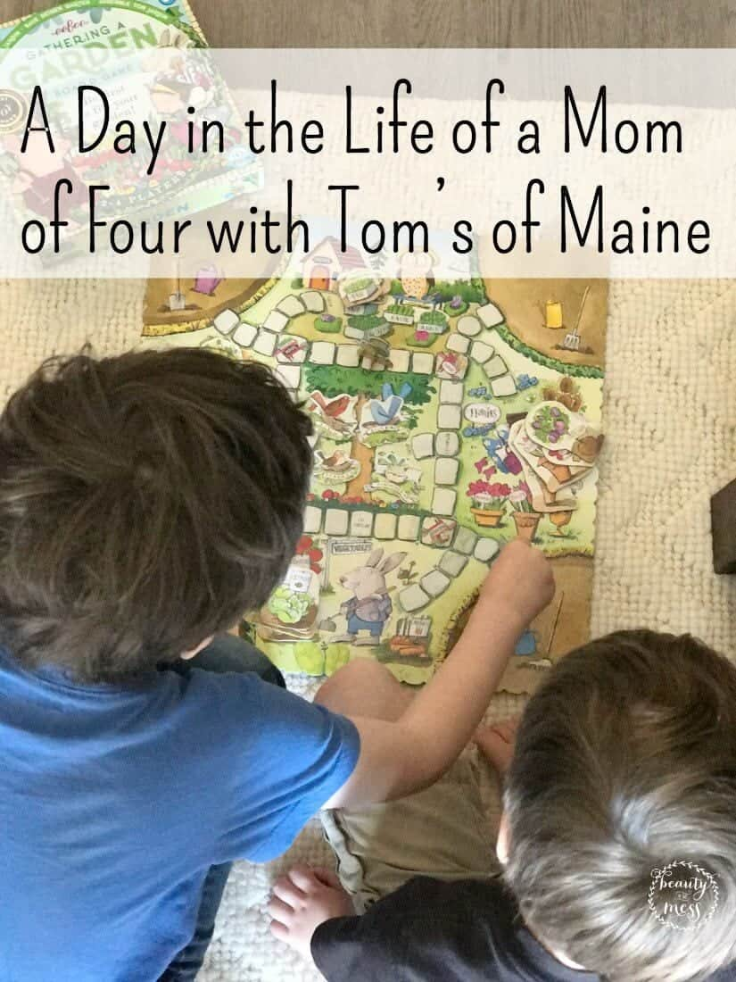 Life doesn't look the same as it did eight years ago. Come read what has changed and what has stayed the same with a mom of four and @TomsofMaine  #MyPearlyWhites #ad
