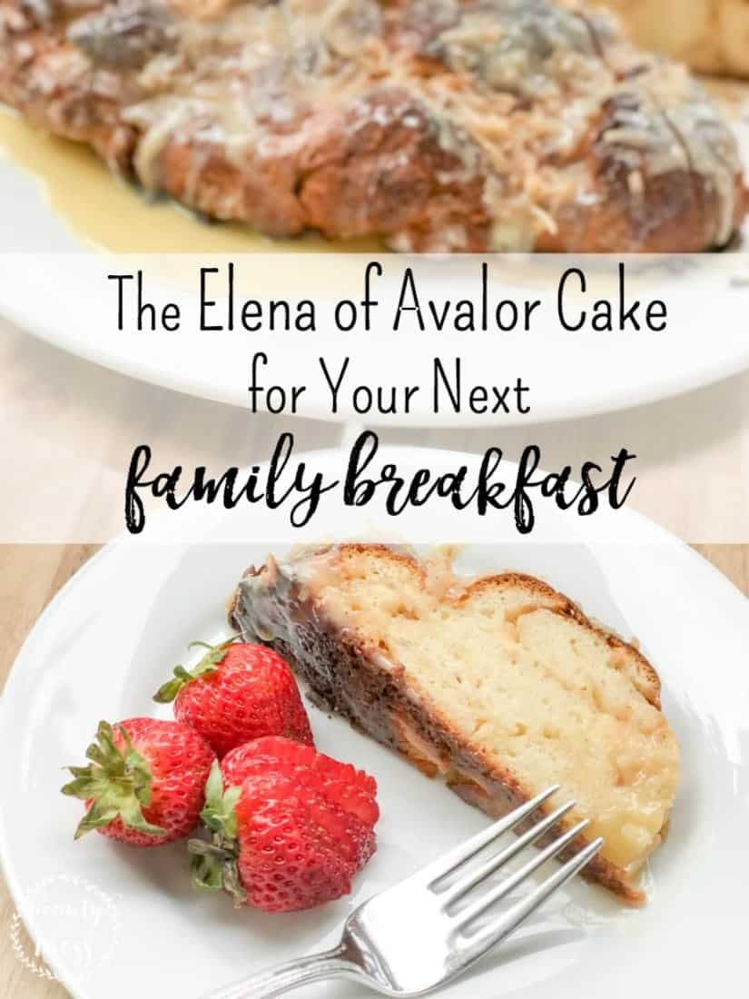 Make memories this Summer with your family as your tune in #DisneyJuniorFriYAY . Add this delicious Elena of Avalor Cake to your breakfast menu for an Elena of Avalor themed morning.