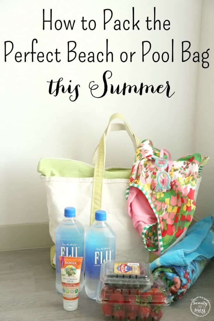 AD: Before you head to the pool or beach this Summer, make sure to check out this list of pool bag essentials you'll be glad you didn't forget! Replenish your pool bag without ever leaving your house with Amazon Prime Now. via @simplifyingfamily