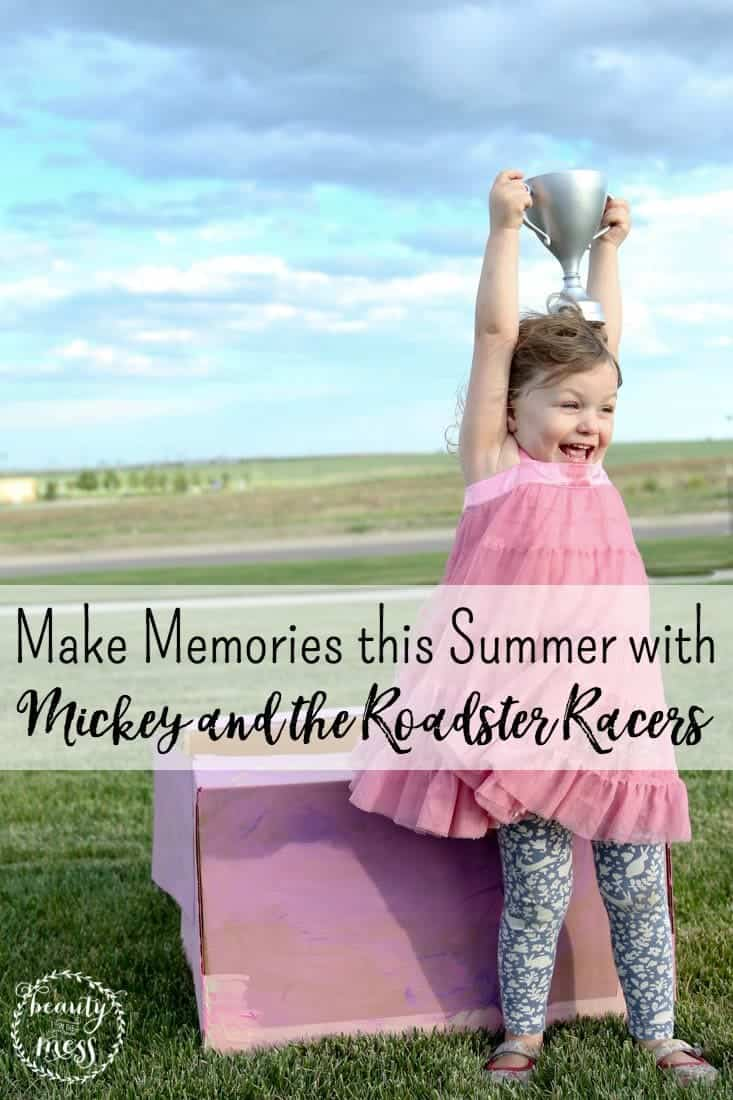 AD: Ignite imagination and make memories this Summer with Mickey and the Roadster Racers on Disney Junior by hosting your own roadster race with snacks inspired by the show. Disney Junior FRiYAY