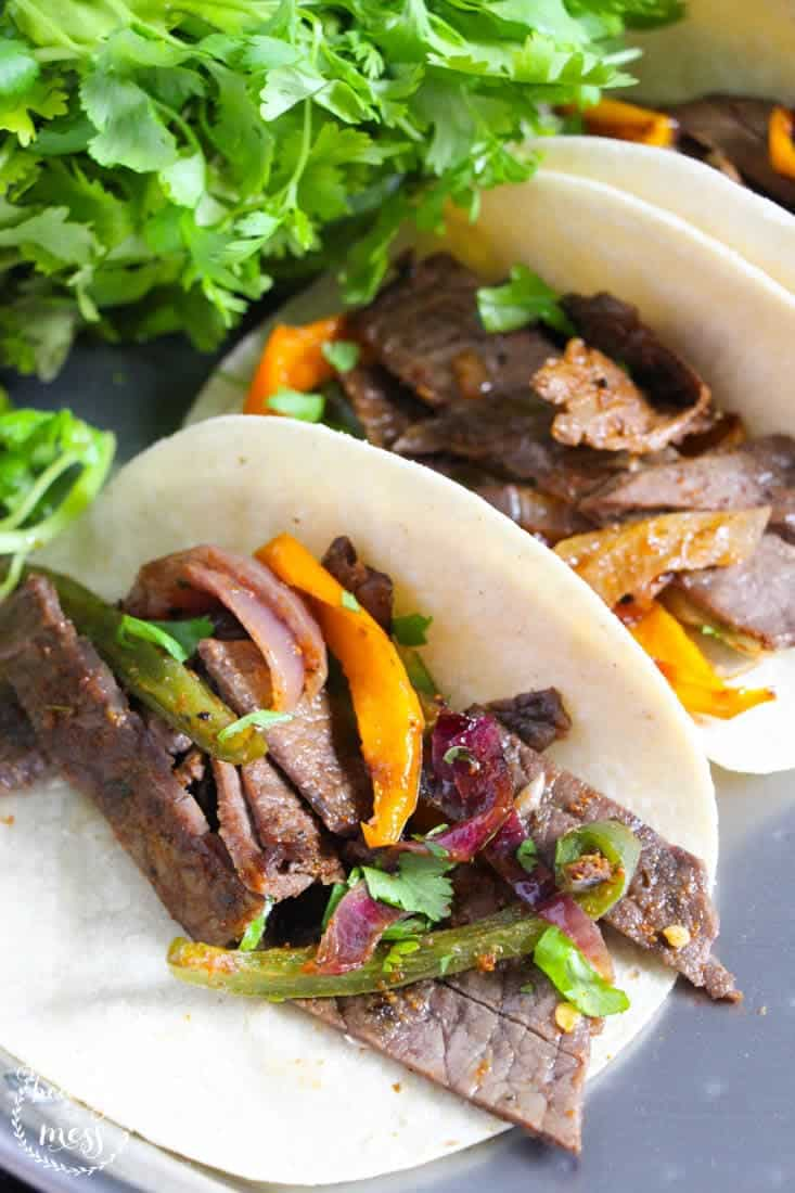 AD: Amazon PrimeNow saved the day with their two-hour delivery. One pan steak fajitas are easy, delicious, and are sure to please even the pickiest palate.
