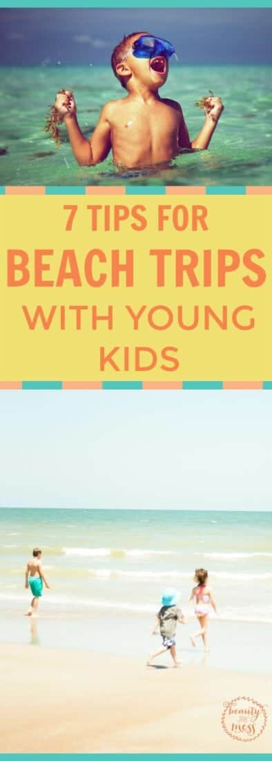 Beach trips are supposed to be fun and relaxing, right? But with kids, things can get chaotic quickly. Check out these 7 tips for taking young children to the beach without losing your mind. via @simplifyingfamily