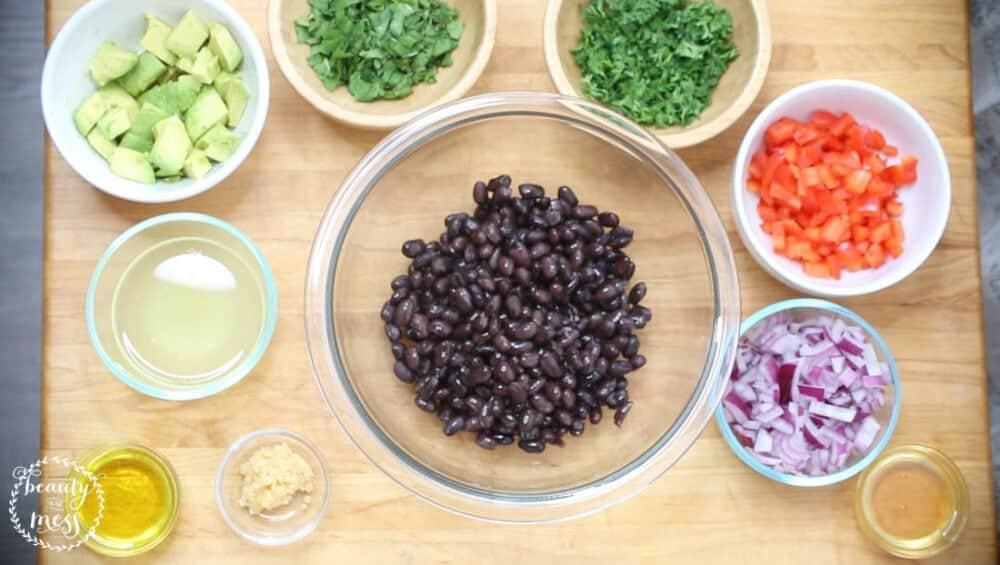 Bush's Beans Black Bean and Garbanzo Bean Salad (4 of 9)