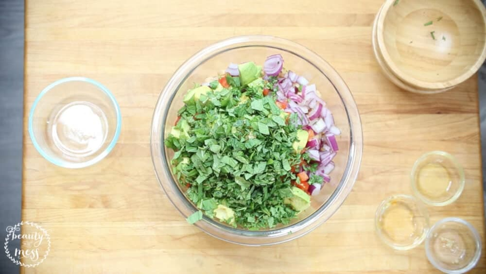 Bush's Beans Black Bean and Garbanzo Bean Salad (9 of 9)