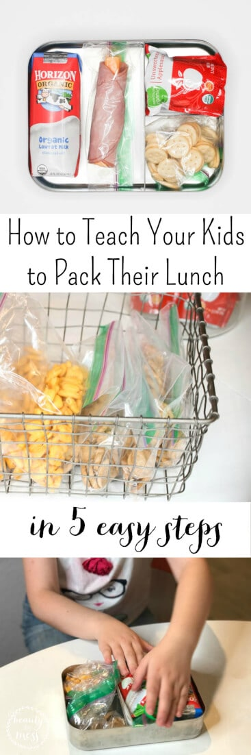 AD: Packing lunch is a life skill every child should have. Start them in elementary school, and it's one less thing for parents to worry about. Teach Your Kids to Pack Their Lunch in 5 Easy Steps with @King Soopers and @Horizon_Organic #BackToSchool #NaturalFoods#lunchboxesmadeeasy