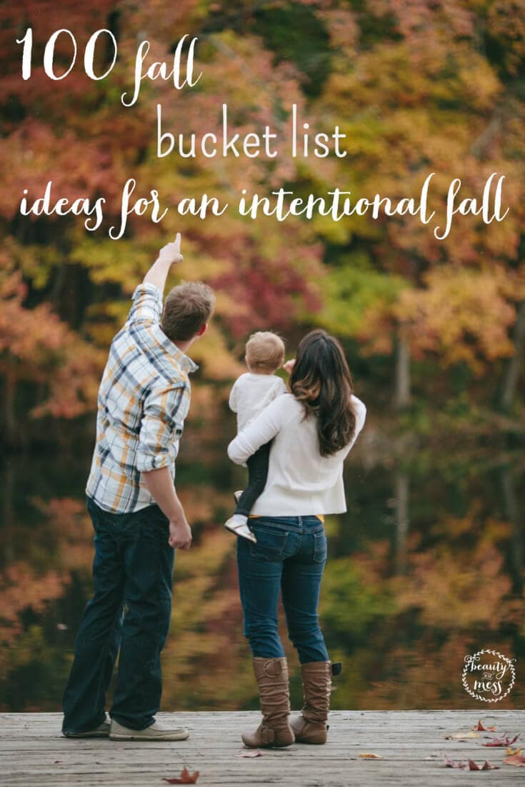Did you hit the ground running with Back to School? Don't let Fall pass you by. Check out these 100 Bucket List Ideas for a fun and intentional Fall.