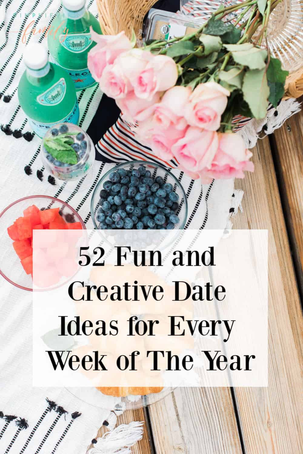 Instead of settling for dinner and a movie, add a little spark to your date night.  Check out these 52 Fun and Creative Date Ideas for Every Week of The Year! #52datenightideas #datenightideas  #Cheapdatenightideas #Datenightideasformarriedcouples #Fundateideasforcouples #romanticdateideas via @simplifyingfamily