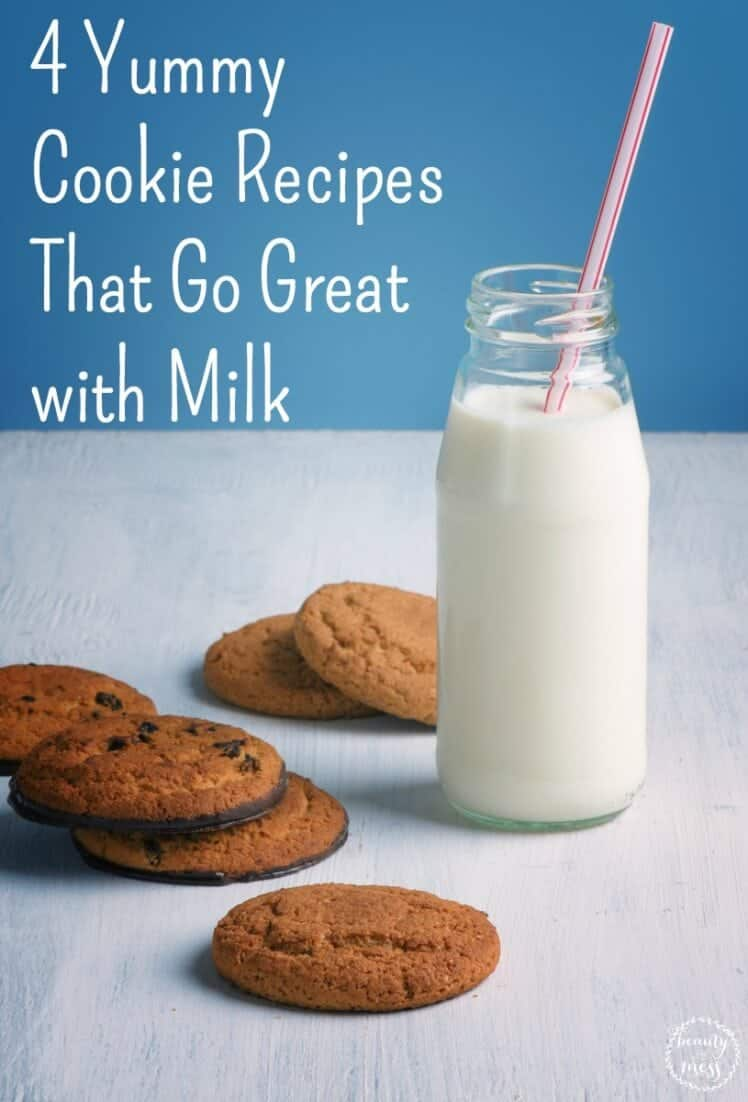 AD: These yummy cookies are delicious and go great with milk. They also open up conversations with kids about other students who live in poverty and how to partner with Heifer International to help. via @simplifyingfamily