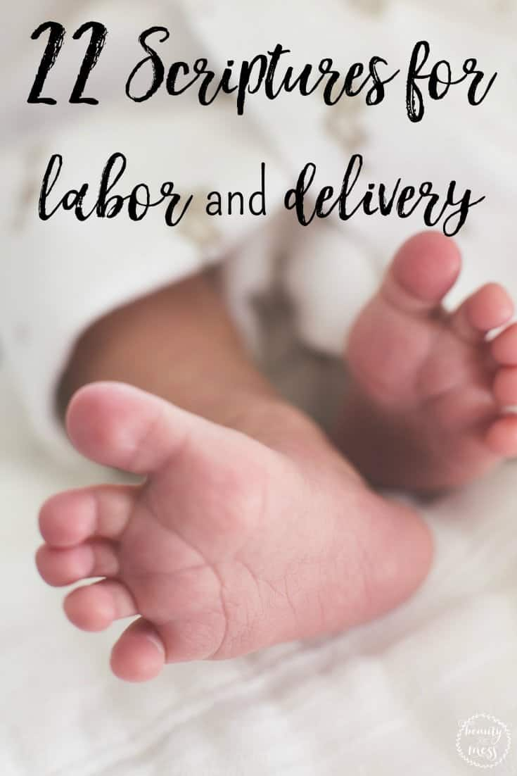 22 scriptures for labor and delivery