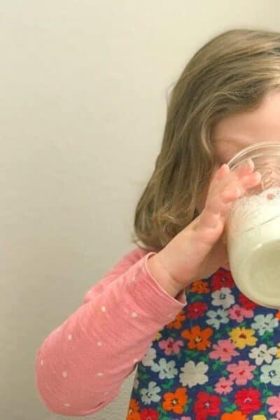 Enfagrow drinking milk toddler