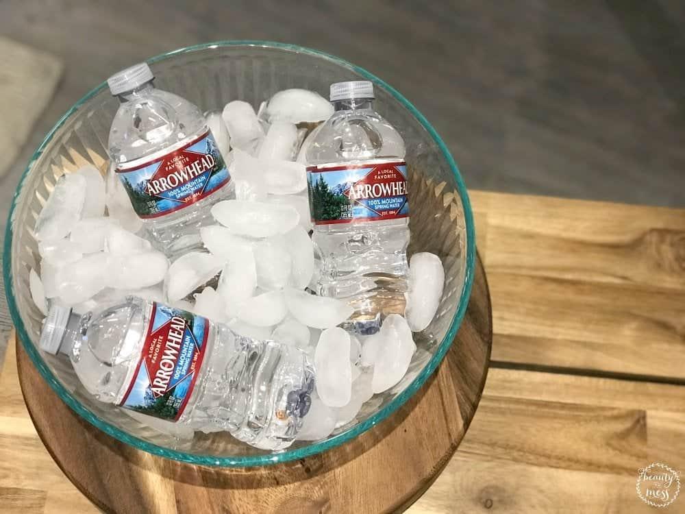 Arrowhead Water Nestle Bottles