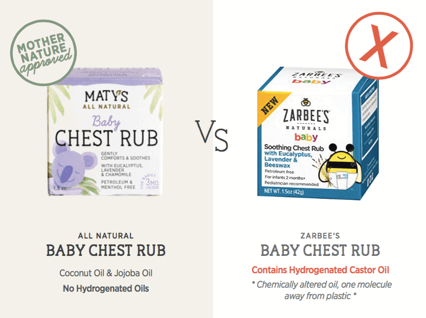 Maty's Heathy Products Baby Chest Rub