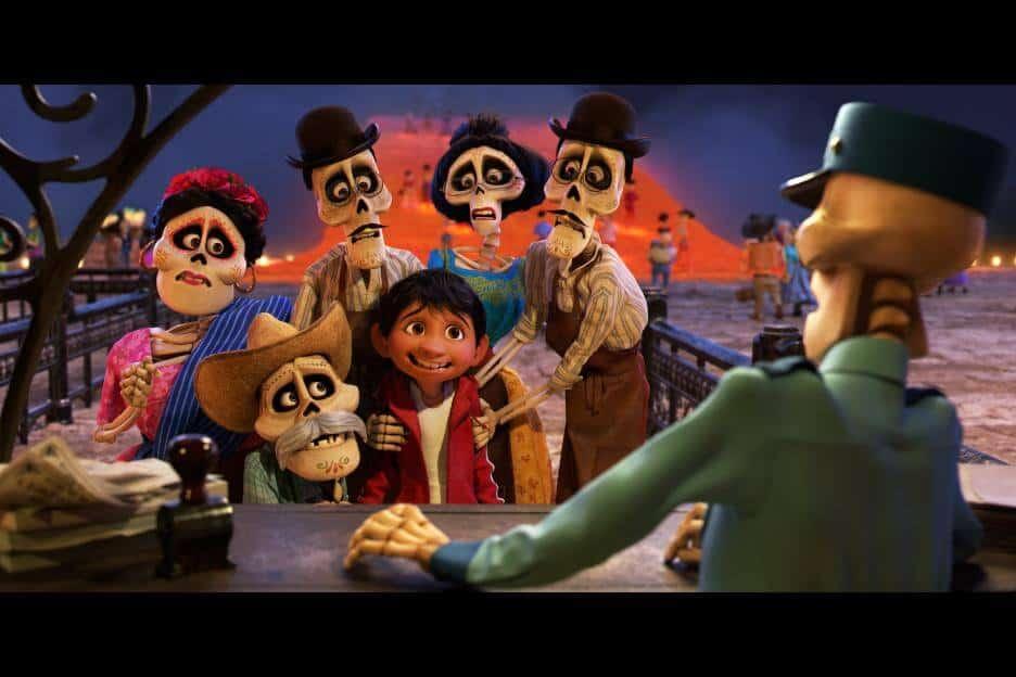 Coco Movie Miguel and relatives
