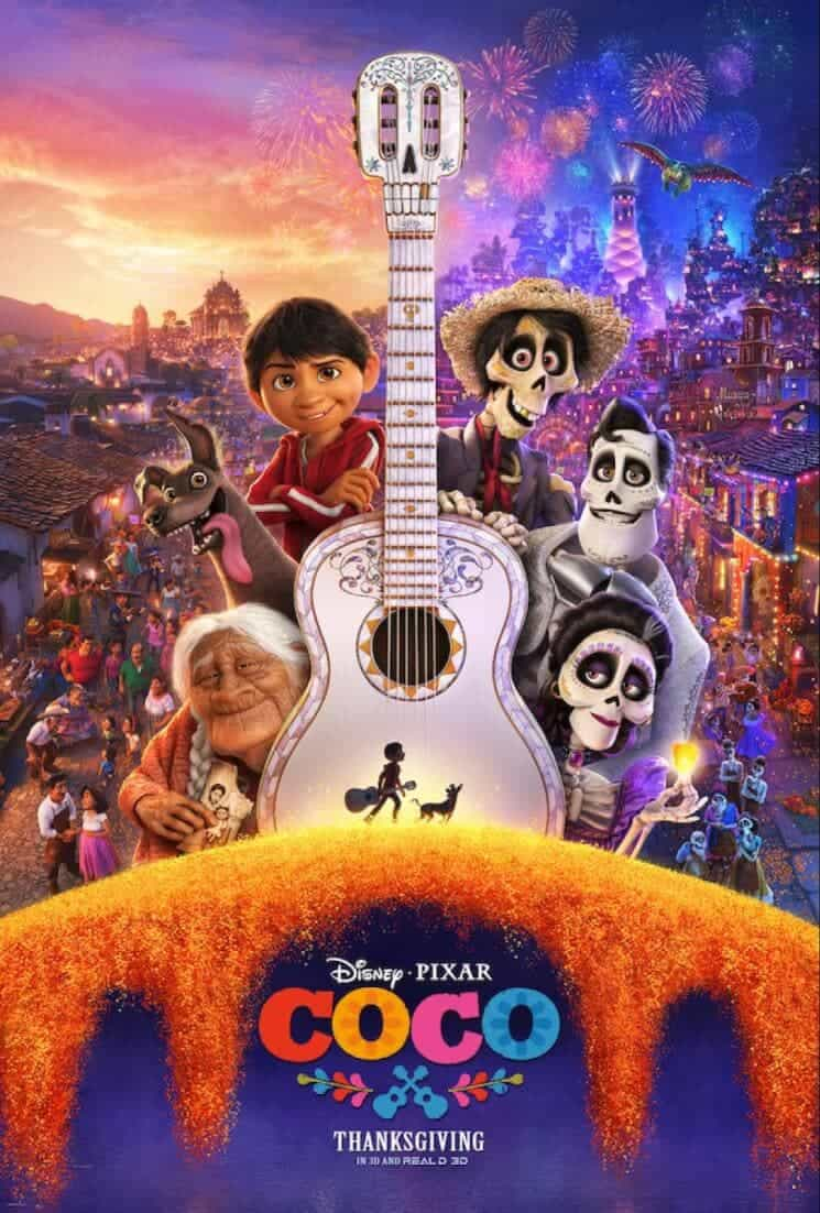 Should Christians take their families to see Pixar's Coco- a movie about the Day of the Dead? Read on to hear one mom's Christian movie review. #pixarcoco #disneypartner via @simplifyingfamily