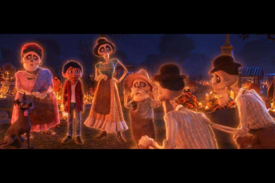 Miguel meets his deceased family