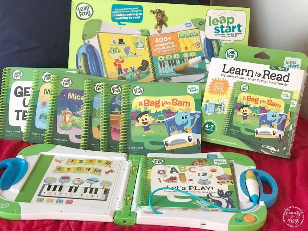LeapStart from Leapfrog and Learn to Read volume 1