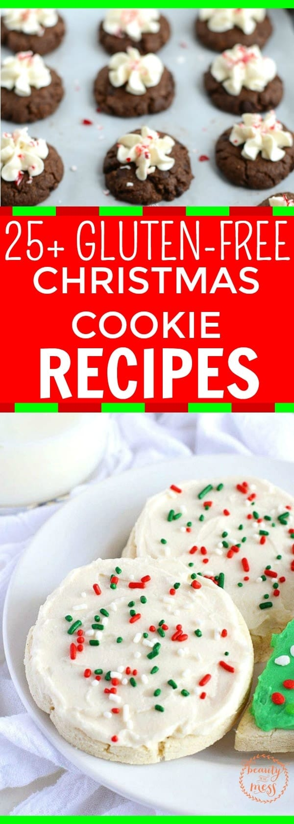 Be prepared this Christmas with these gluten-free Christmas Cookie recipes that are sure to please. They will make a great addition to your holiday treat creations for friends and family or a special time in the kitchen with your children making memories. #christmascookies #holidaysweettreats #glutenfree #cookieexchange