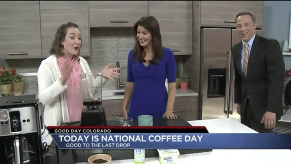 National Coffee Day TV Segment