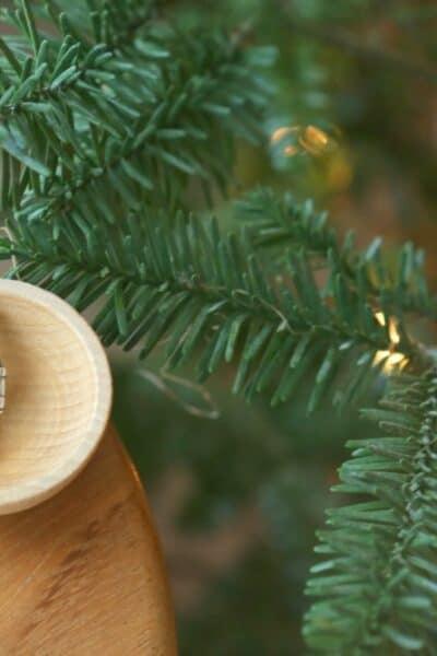 Nutcracker Charm Christmas Tree