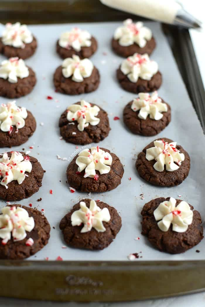Gluten free hot chocolate cookies