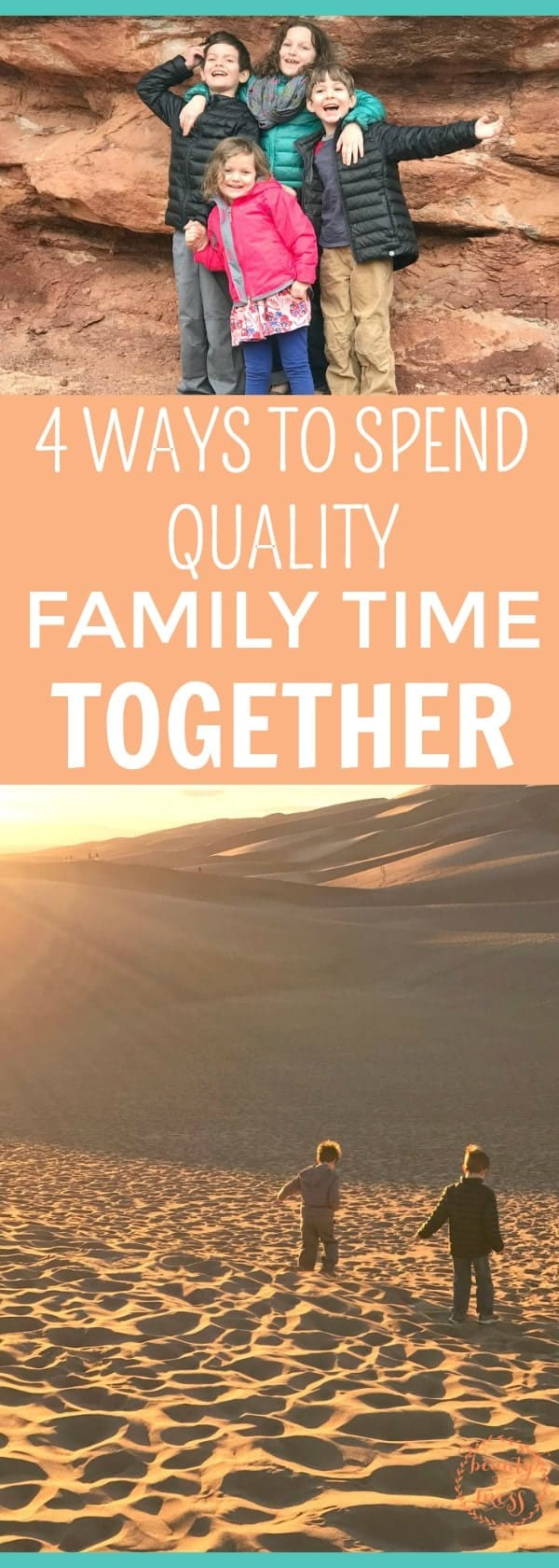 Mom life is crazy. Running around from one activity to the next. Trying to keep everyone fed and clothed whilesimultaneously keeping the house stocked with essentials and spending quality family time together isn't easy. Don't miss these 4 ways to spend more time together as a family. via @simplifyingfamily