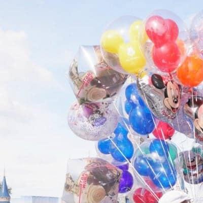 Magic Kingdom Balloons Walt Disney World Preschoolers