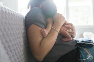 Newborn and mama