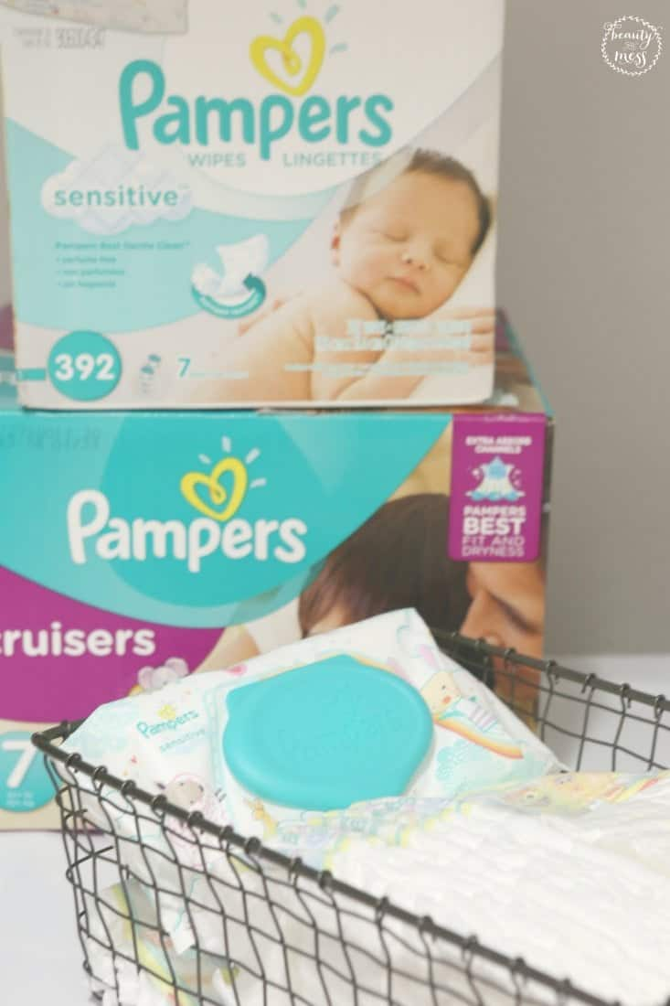 Diapers and Sensitive Wipes