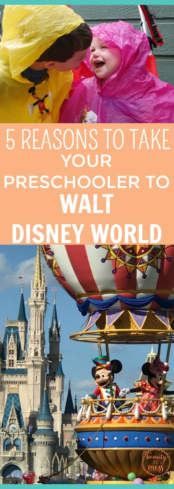Want to plan a Walt Disney World® vacation? Have a preschooler? Are you asking yourself if you should take your preschooler to Walt Disney World®? Here's what you need to know. Don't miss these 5 reasons we don't regret taking our preschoolers and why you should consider it!  via @simplifyingfamily